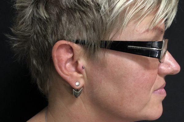 piercing ucho