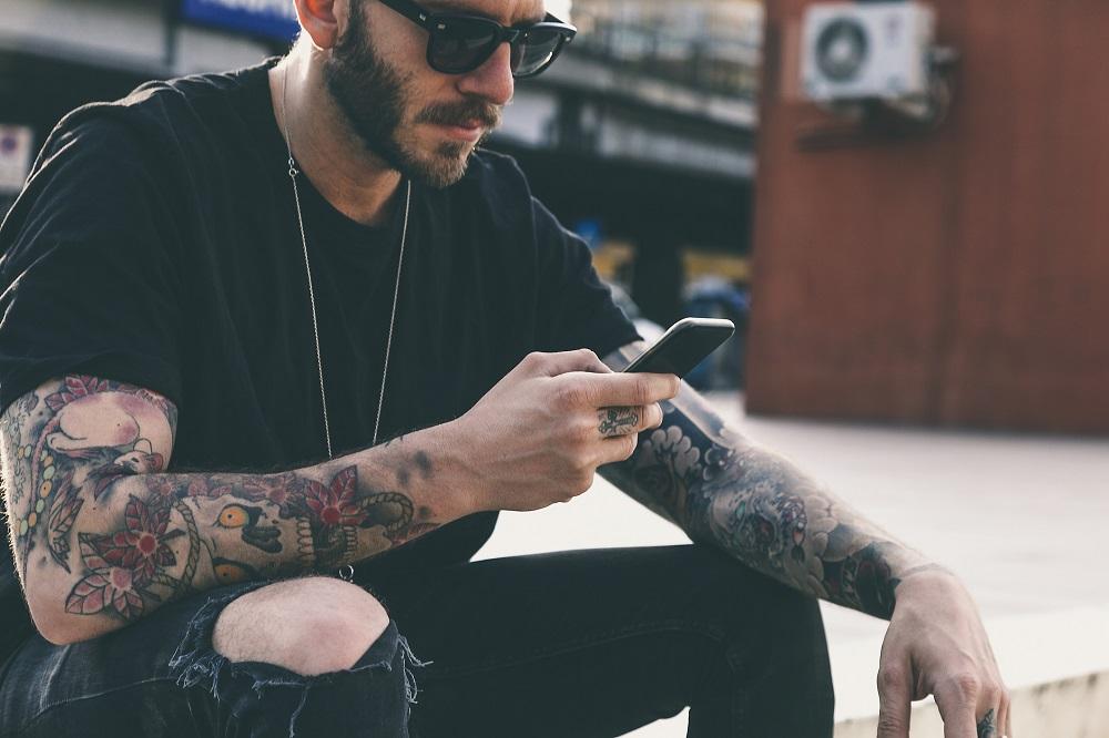 tatuaże wśród mężczyzn