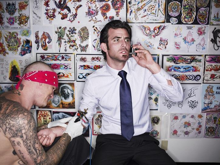 Tatuaż pod wpływem emocji